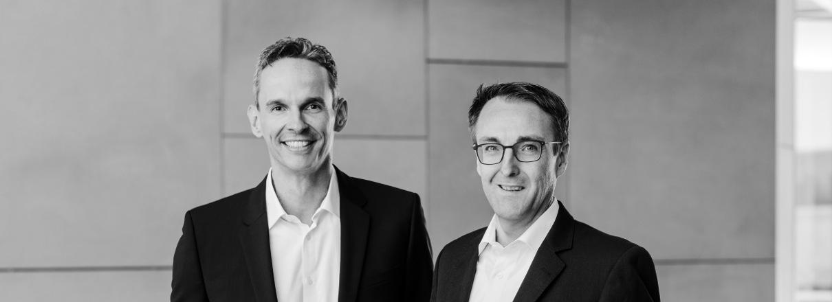Unsere Geschäftsführung: Marco Zander und Christian Arentzen